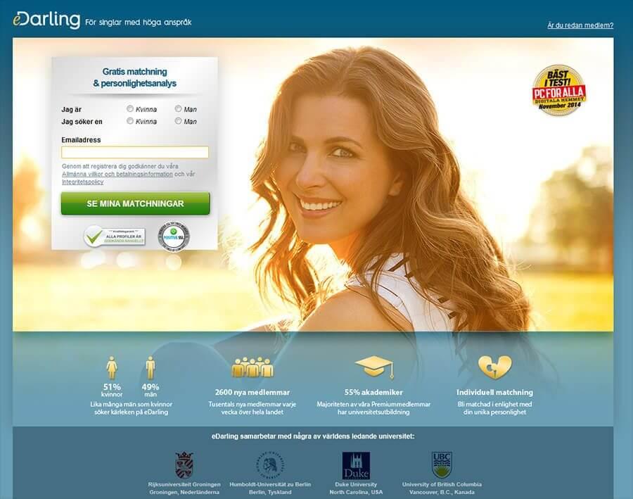 Dating hemsida frågeformulär match