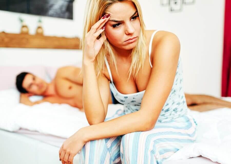 Män oroar sig över den fysiska relationen, kvinnor oroar sig för den känslomässiga kontakten